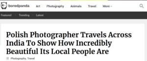 Polska fotograf podróżuje przez Indie, aby pokazać, jak niewiarygodnie piękni są ich mieszkańcy